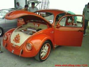 volkswagen modificado naranja