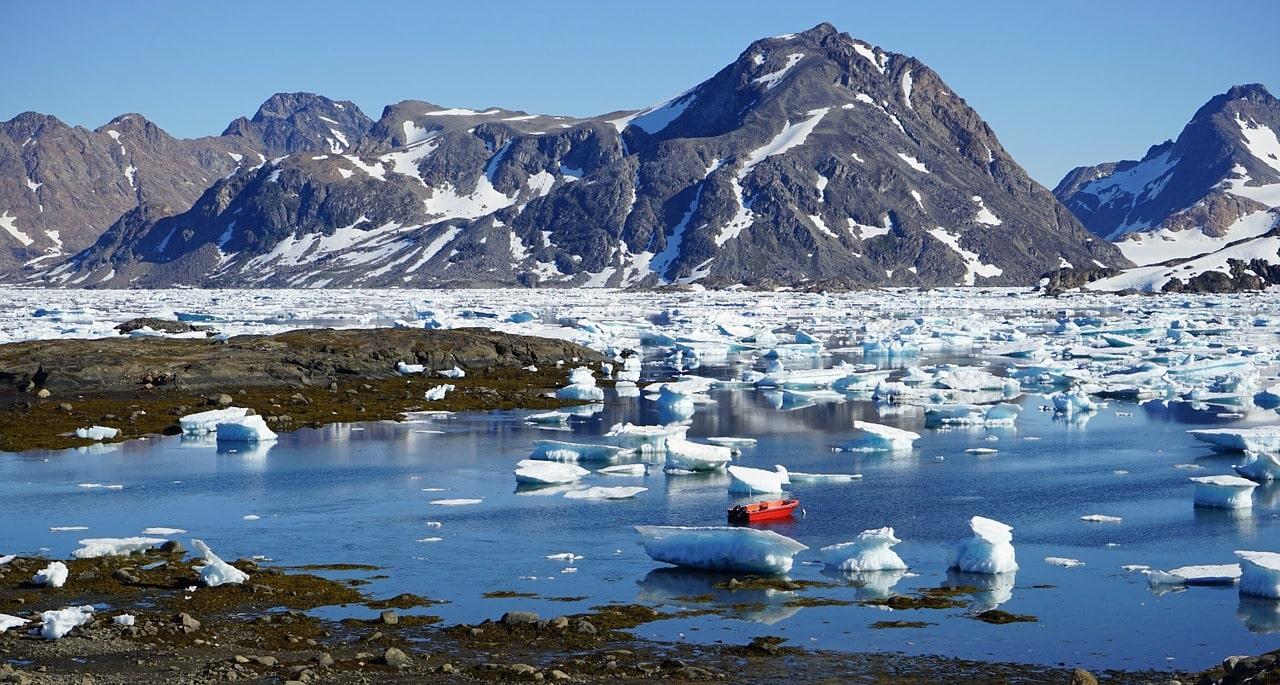 El clima de Groenlandia